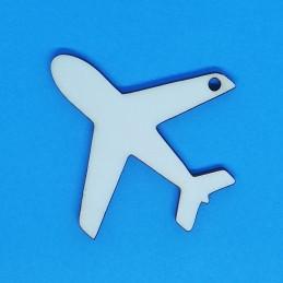 Aeroplano segnaposto in legno