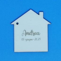 Casa segnaposto personalizzato