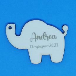 Elefante segnaposto...