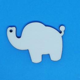 Elefante segnaposto in legno
